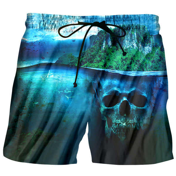 Hot Summer Skull Shorts