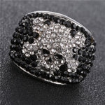 Black Eye Skull Ring
