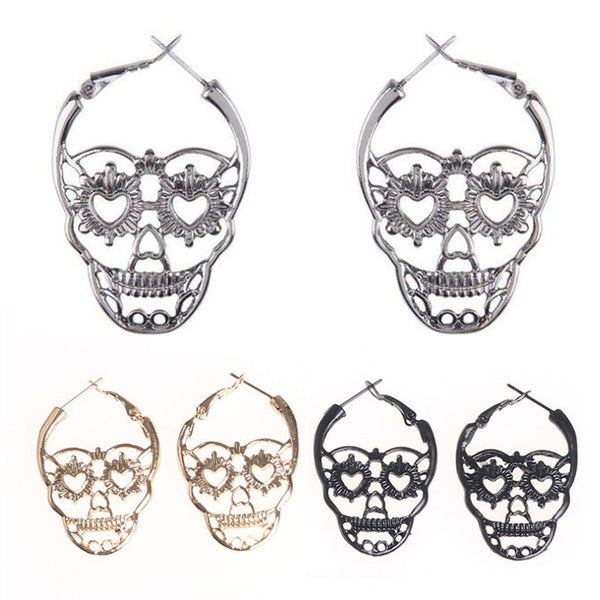 Skull Vintage Earrings