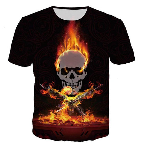 The Burning Skull