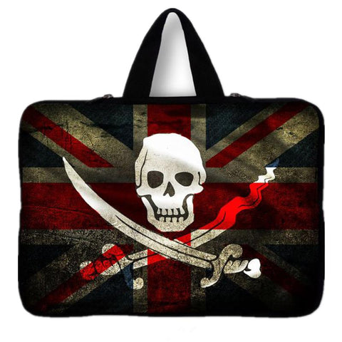 Waterproof Skull Notebook Laptop Sleeve Bag