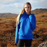 Prairie | P003U | Unisex | Men's Fairtrade Organic Hood | Azure Blue | Women