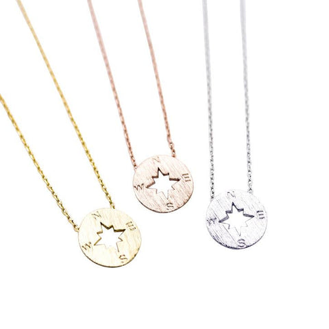 Heart Trio Necklace Silver Chain