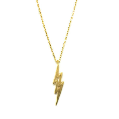 14k Gold Plated Sterling Silver Feather Necklace