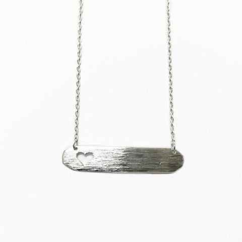 Sophia Herringbone Necklace