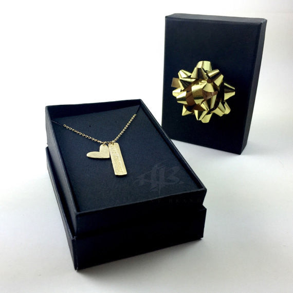"Tiny Gold ""New York"" Necklace - Dainty, Simple, Birthday Gift, Wedding Bridesmaid Gift"