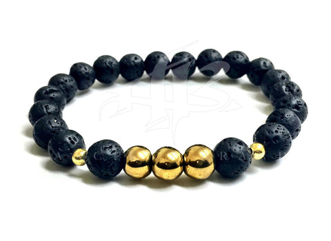 10mm Buddha Bracelets (Gold)
