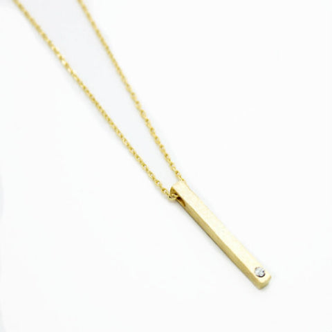 Bestie Bar Best Friends Necklace