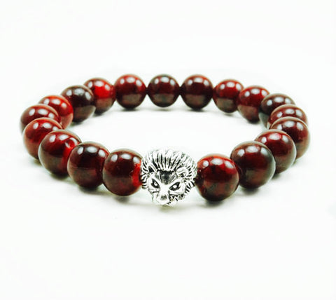 "Men's ""Kolur"" Onyx Beaded Bracelet"