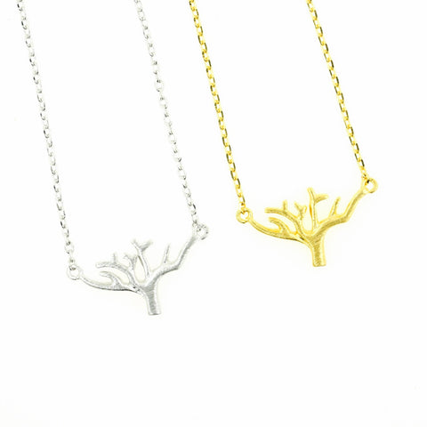 Gold Tree of Life Necklace Small - Dainty, Simple, Birthday Gift, Wedding Bridesmaid Gift