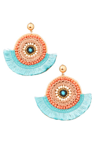 Amisha Fringe Earrings