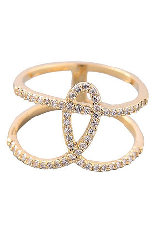 "Bella ""CZ"" Cubic Zirconium Band Ring"