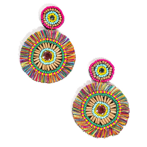 Ivyy Tiered Tassel Earrings