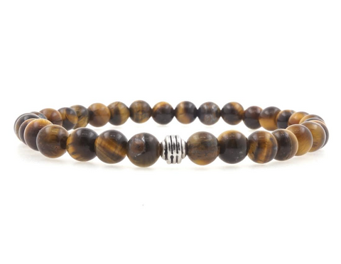 Black Onyx 6mm Beaded Bracelet