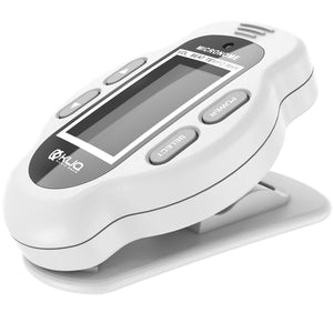 MicroNome - Rechargeable Digital Clip-On Metronome, White