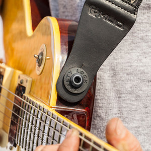 Vintage Woven Guitar Strap for Acoustic and Electric Guitars with 2 Rubber Strap Locks, Aztec Gray