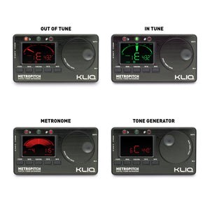 MetroPitch - Digital Metronome Tuner For All Instruments, BLACK