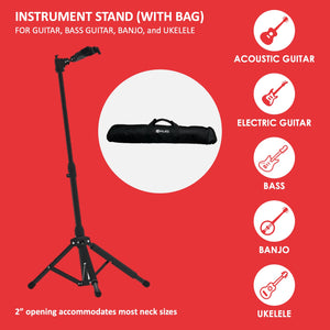 Forte Instrument Stand with carrying bag included