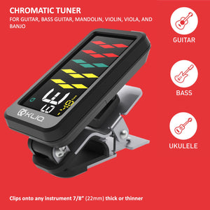 ProTuner - Professional Clip-On Tuner for All Instruments (with flat tuning)
