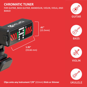 Ultra-TinyTuner - CLIP-ON TUNER FOR ALL INSTRUMENTS