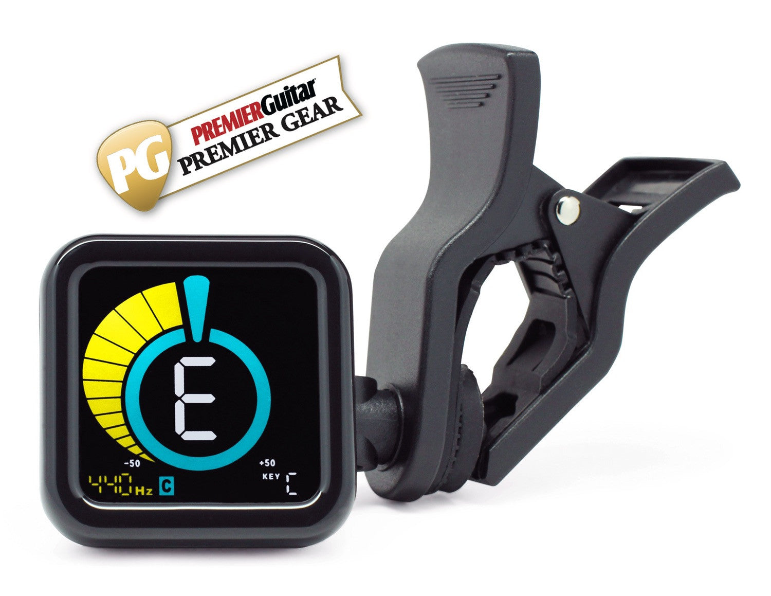 Kliq Ubertuner Clip On Tuner For All Instruments With Guitar