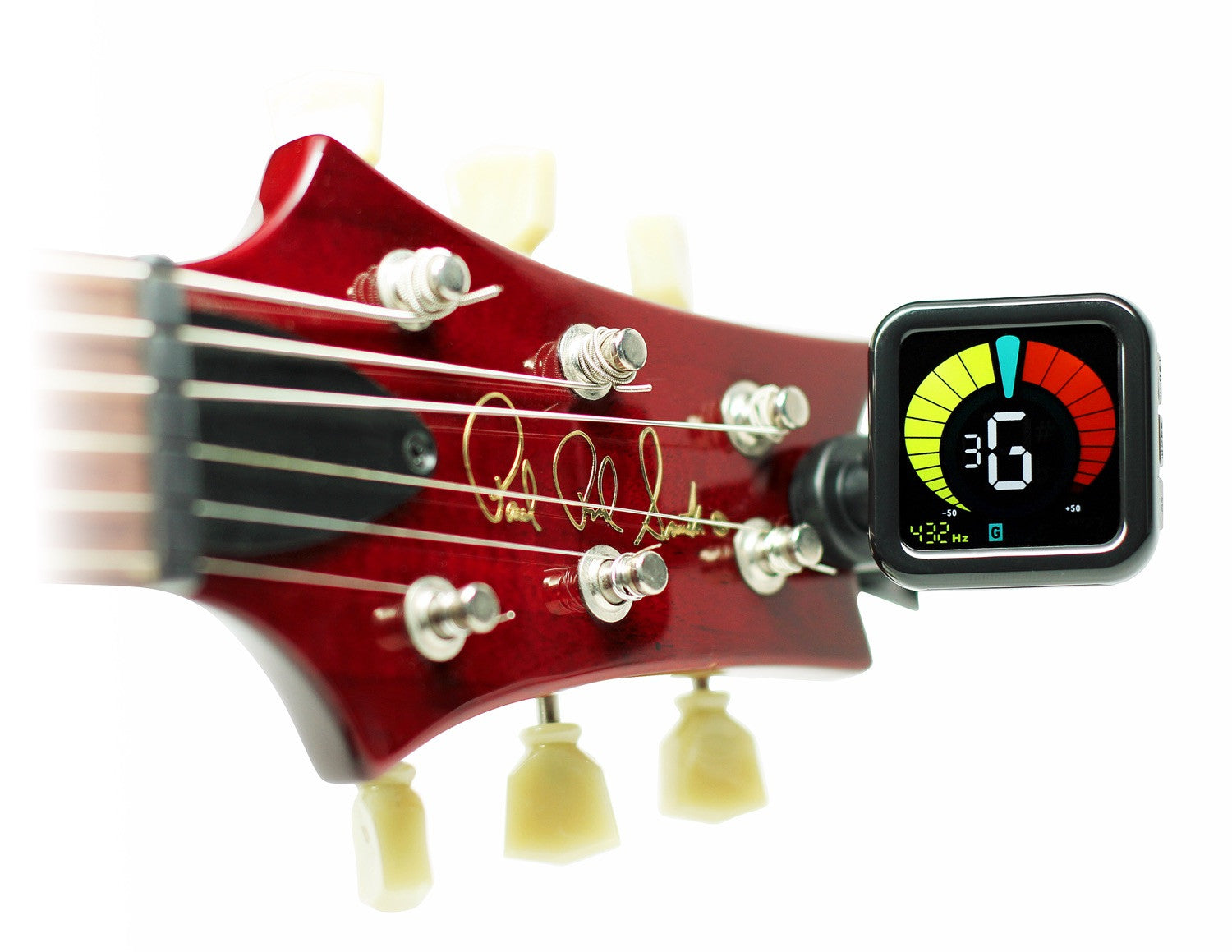 Kliq Ubertuner Clip On Tuner For All Instruments With Guitar Violin Bass Wiring Diagram Ukulele Chromatic Tuning Modes