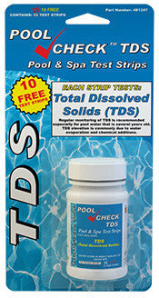 Pool Check TDS Test Strips