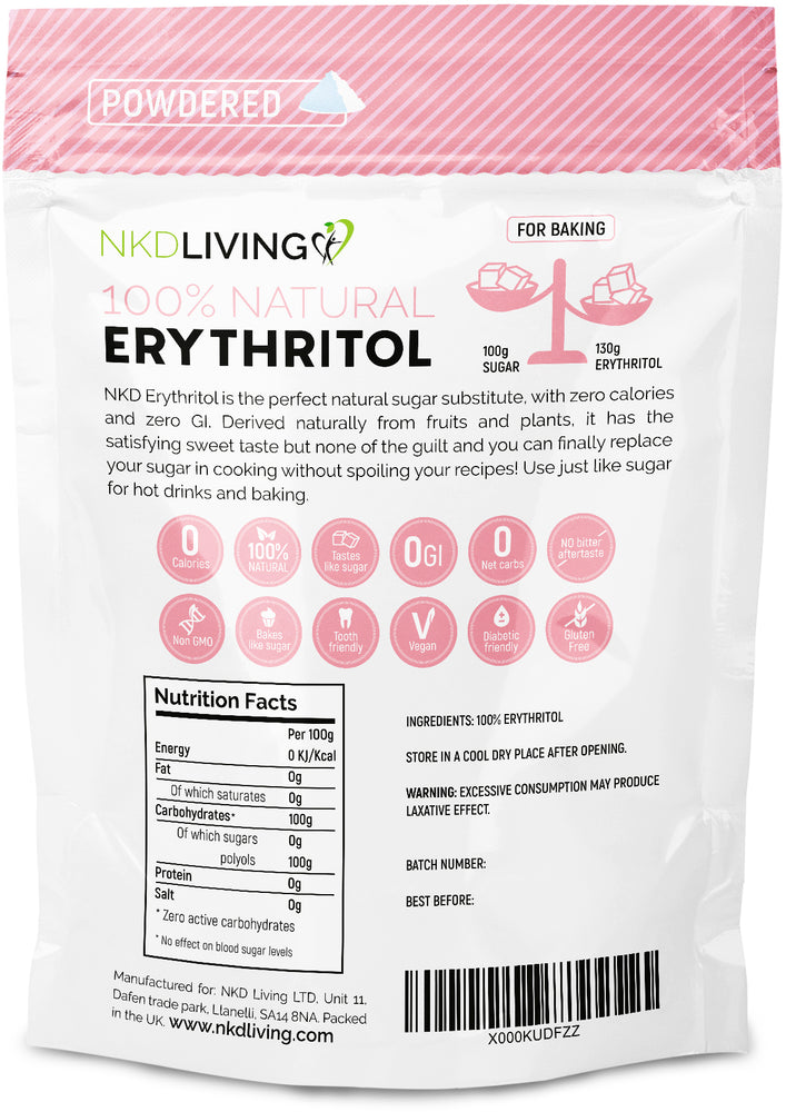 Powdered Erythritol 1kg