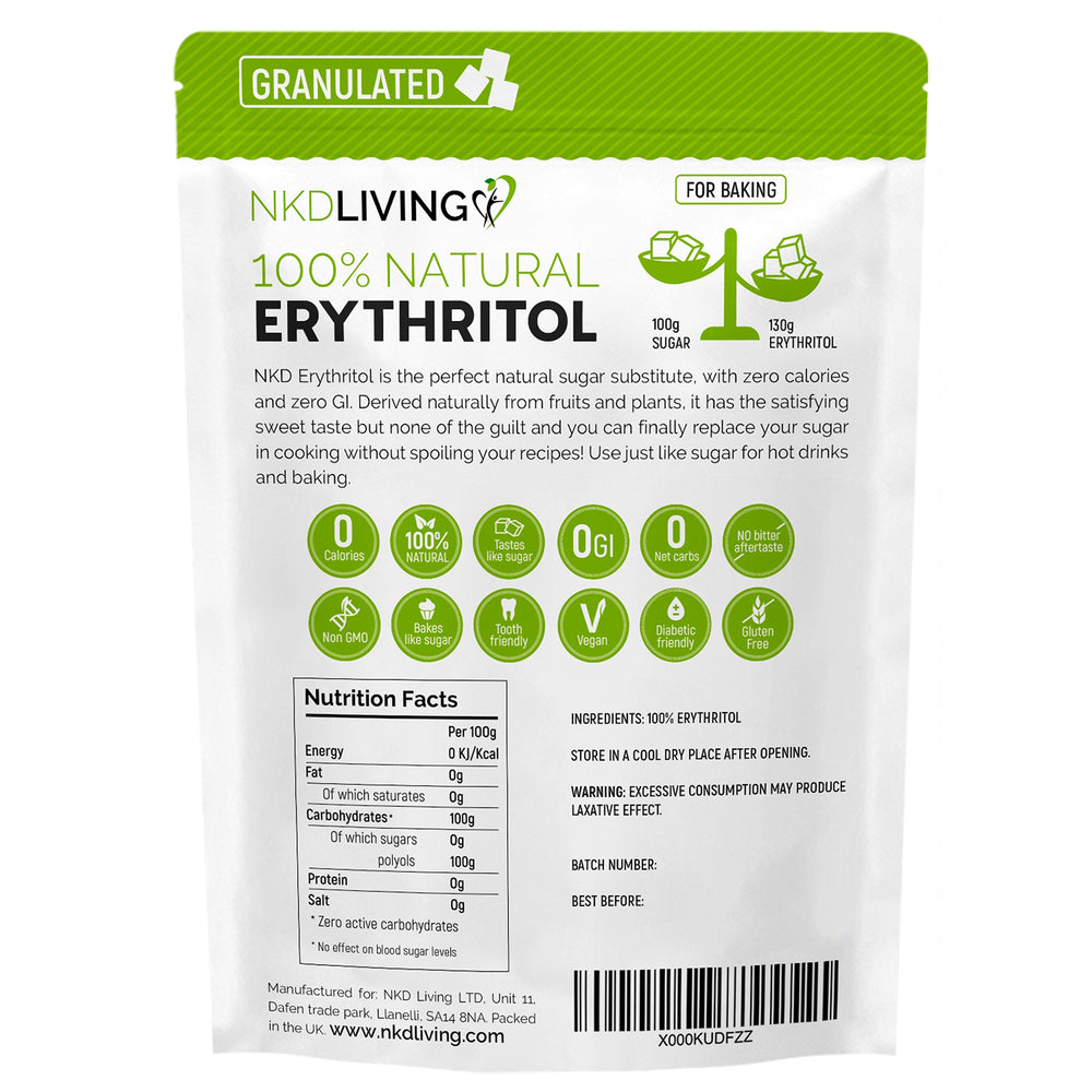 100% Natural Granulated Erythritol 1 Kg *SALE*