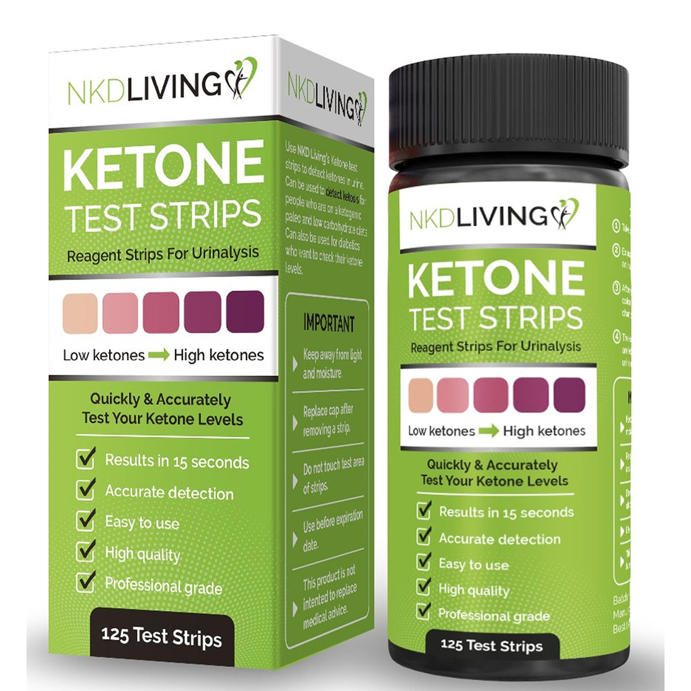 Ketone Test strips (125 test strips)