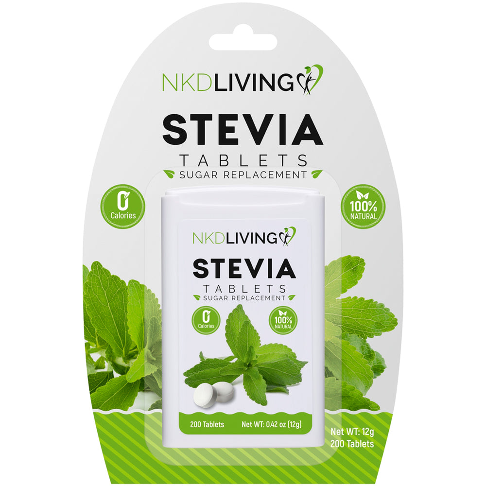 Pure Stevia Sweetener Tablets (200 tablets)
