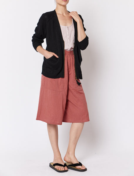 Tassle Cardigan - Black