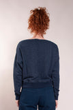 Boatneck Sweatshirt ° Navy