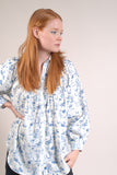 Space Cadet Toile Smock Blouse º Navy
