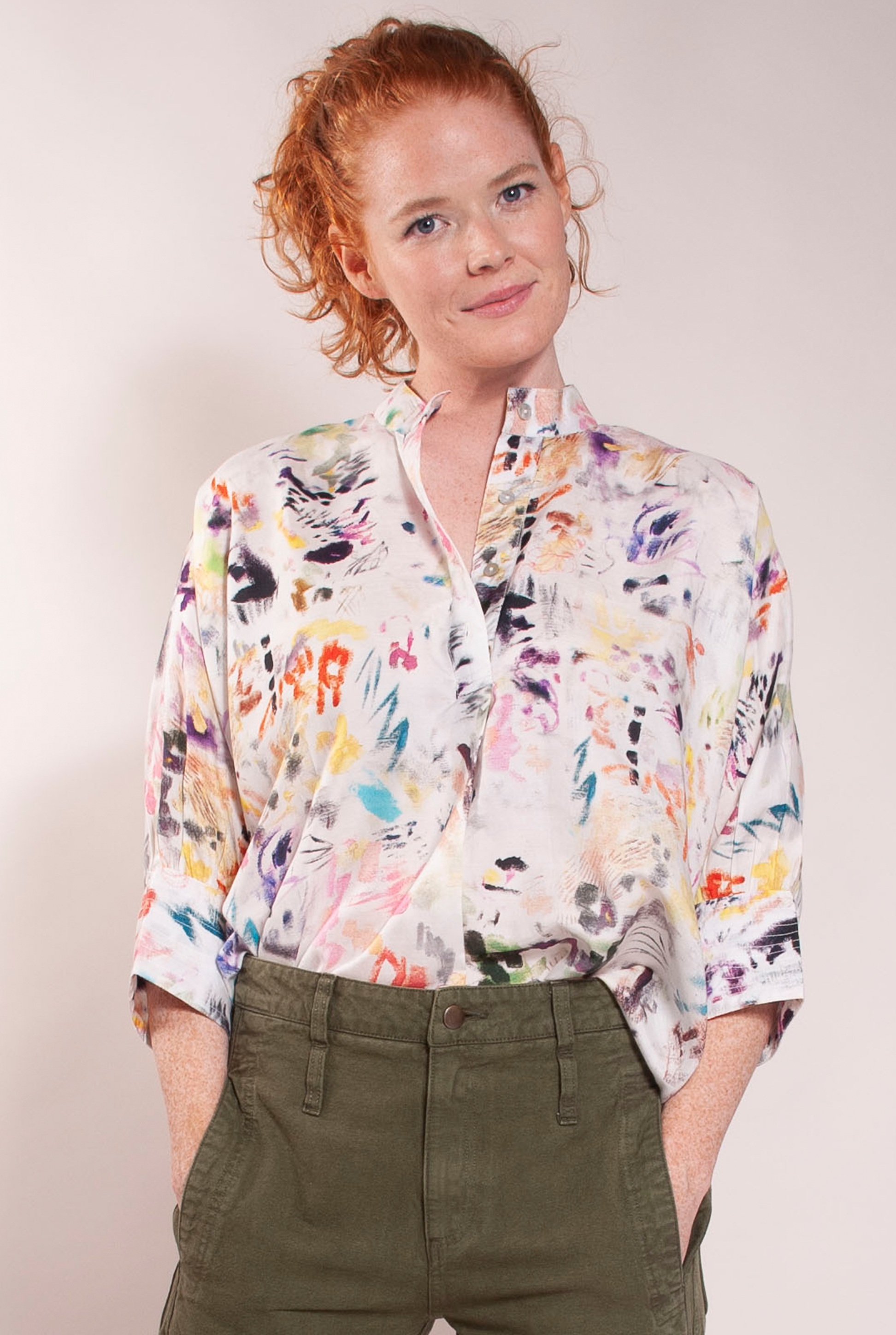 Splatter Paint Everyday Top ° Multi