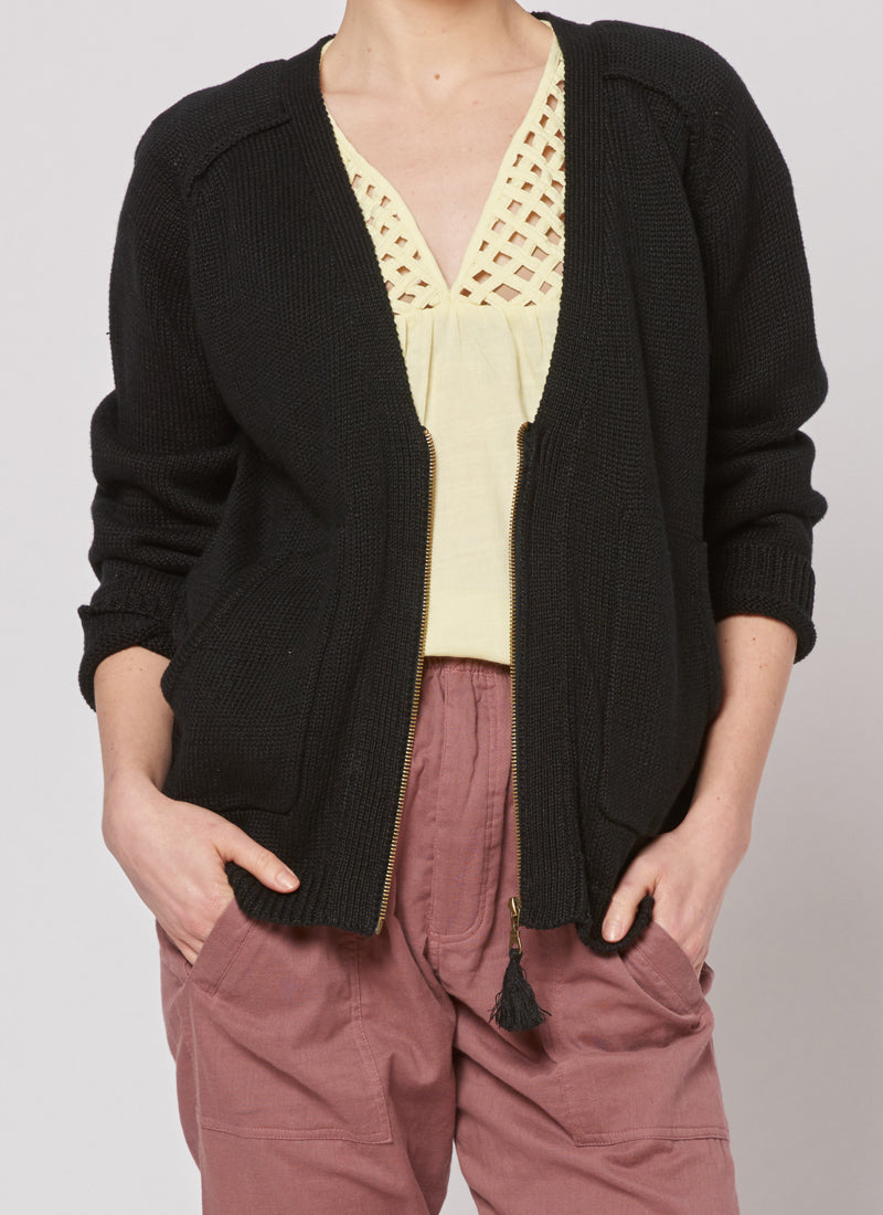 Tassle Cardigan ° Black