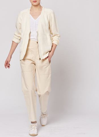 Tassle Cardigan - Natural