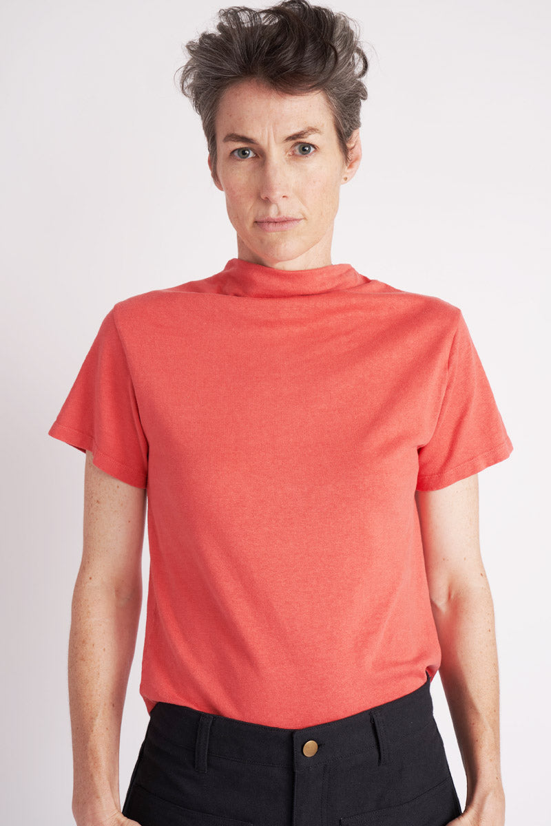 Cowl Tee ° Watermelon
