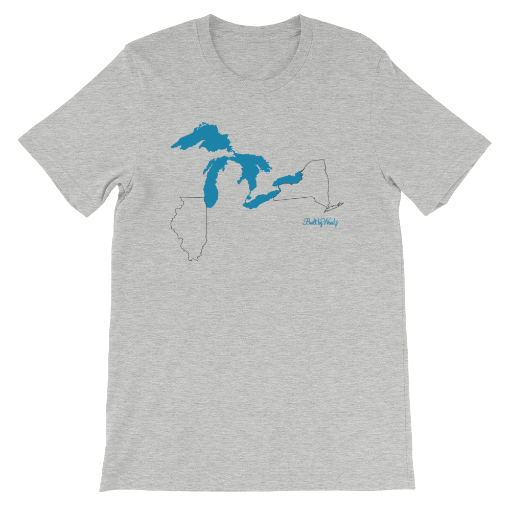 Unisex T-Shirt - Great Lakes (IL-NY)