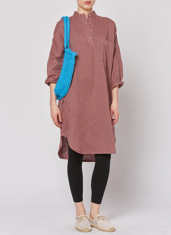 Smock Dress - Bordeaux
