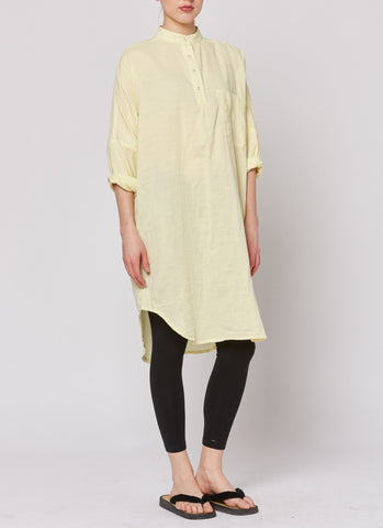 Smock Dress - Lemon