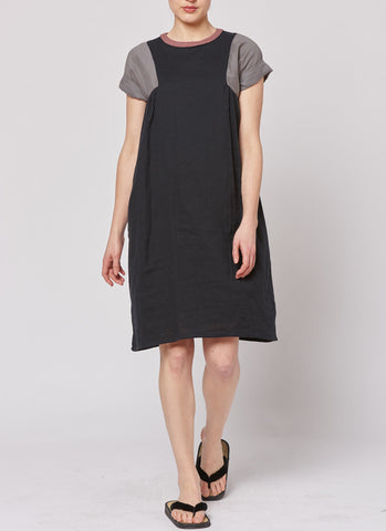 Tri Dress - Black/Grey