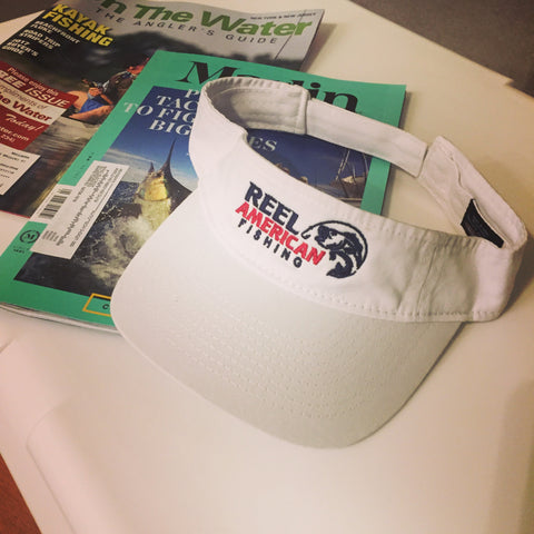 Reel American Fishing Visor