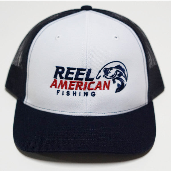 Reel American Fishing Trucker Cap