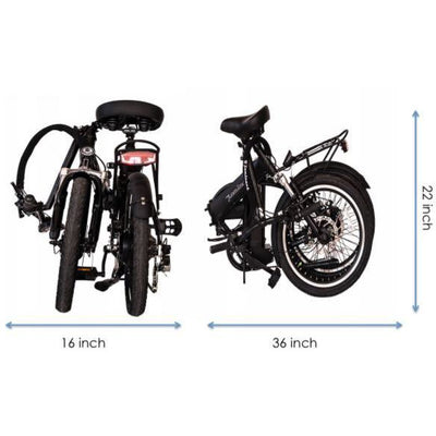 "Joulvert Journey - Light Weight Folding Ebike - Black Friday Discount use ""JV799"" AS PROMO CODE"