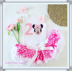Minnie Mouse 2nd Birthday 3pcs Set