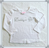 Daddy's Girl Long Sleeved Tee - size 1