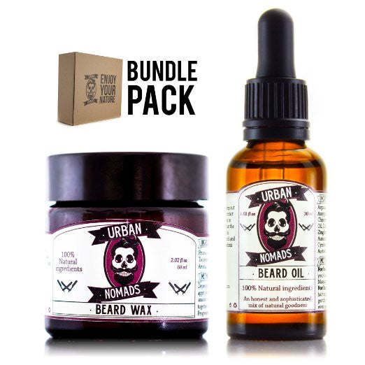 Value Pack Punch - Get our perfect couple of Handcrafted Beard oil and Wax