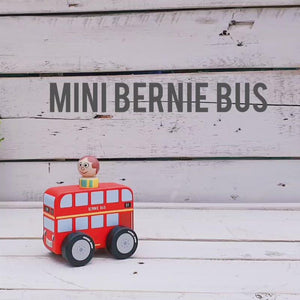 Mini Bernie Bus & Evelyn