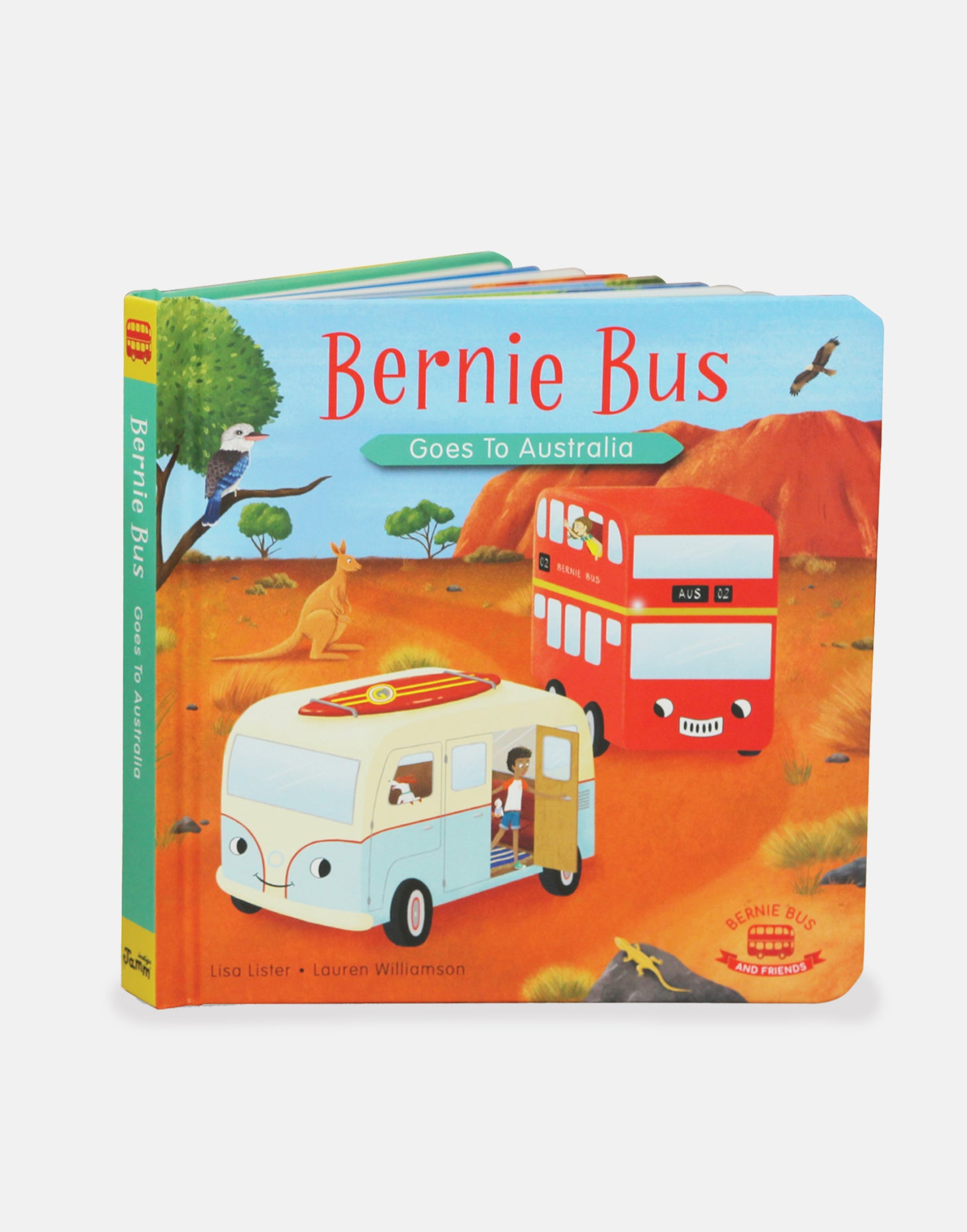 Bernie Bus Goes to Australia Book